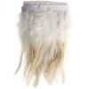 Coque/marabou Trim 6-7in 1Yd Approx 17g White